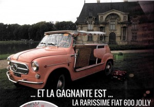 Automobelle Fiat 600 Jolly